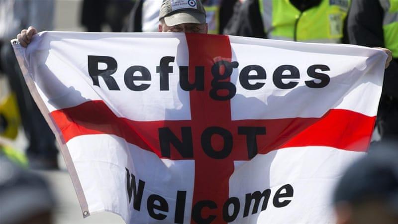 RefugeesNotWelcome